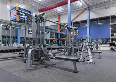 All the tools you need to workout at Workout Club in Salem