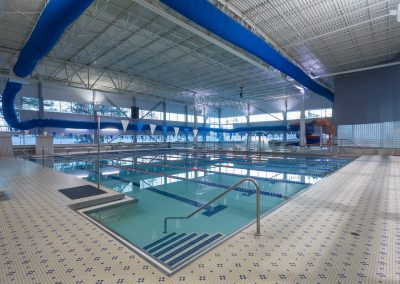 Indoor Lap Pools for Swim Lessons at Workout Club in Salem