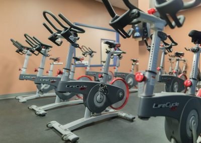 Indoor Spin Classes at Workout Club in Manchester