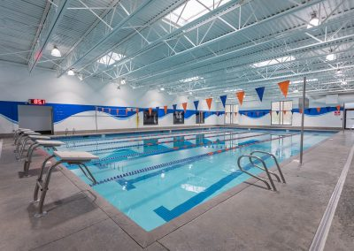 Indoor Swimming Pool at Workout Club in Londonderry
